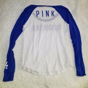 PINK Victoria's Secret Tops - VS PINK LA Dodgers Top